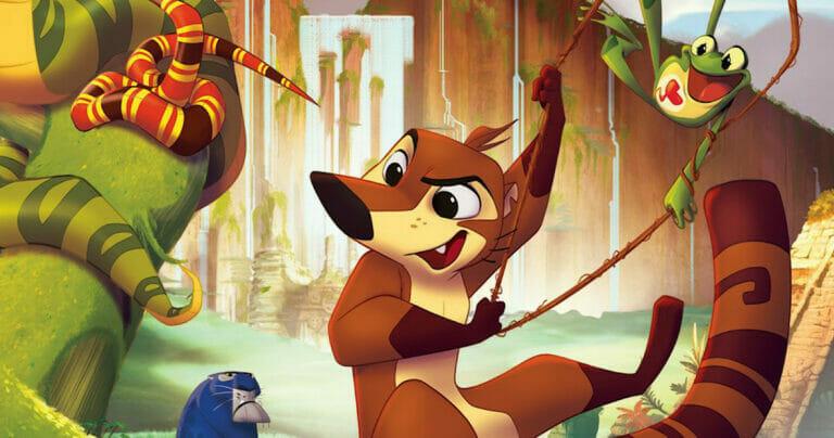 Koati: La película animada que celebra la fauna latina.